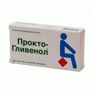 ПРОКТО-ГЛИВЕНОЛ N10 суппозитории Новартис Фарма С.а.С.