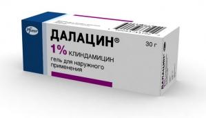 ДАЛАЦИН 1% 30г гель д/наружного применения Pharmacia and Upjohn Company