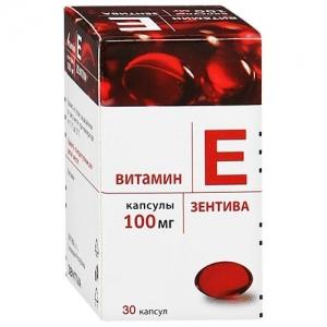 ВИТАМИН Е ЗЕНТИВА 100мг N30 капс. Zentiva a.s
