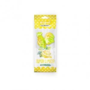 АКТИФРУТ леденцовая карамель с витамином С со вкусом лимона с мятой 17г Гуслица