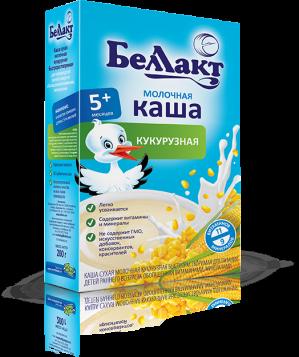 БЕЛЛАКТ каша молочная кукурузная 200гр
