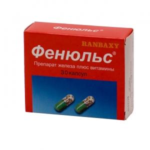 ФЕНЮЛЬС N30 капс. Ranbaxy