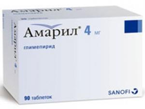 АМАРИЛ 4мг N90 таб. Санофи-Авентис С.П.А.