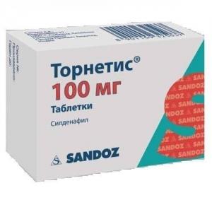 ТОРНЕТИС 100мг N4 таб. Sandoz D.D.