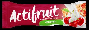 АКТИФРУТ батончик мюсли Вишня в йогурте 30г Tekmar Slovensko s.r.o