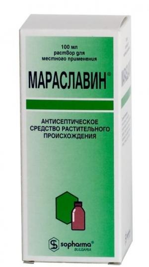 МАРАСЛАВИН 100мл р-р д/местного применения Софарма