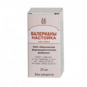 ВАЛЕРИАНА 25мл настойка фл. Ивановская фармацевтическая фабрика
