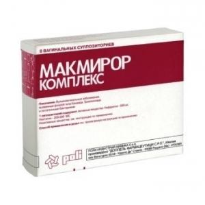 МАКМИРОР КОМПЛЕКС 200000 МЕ+500 мг N8 капс. вагинальные Доппель Фармацеутици С.р.Л.