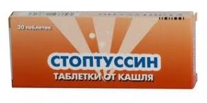 СТОПТУССИН N20 таб. Teva Czech Industries s.r.o.