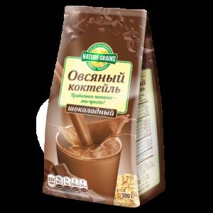 КОКТЕЙЛЬ овсяный с шоколадом 300гр