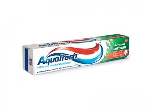 АКВАФРЕШ 3+ зубная паста Мягко-мятная 50мл SmithKlineBeecham Consumer Healthcare
