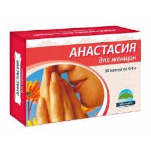 АНАСТАСИЯ капсулы 0,4 №30 Тайга-продукт