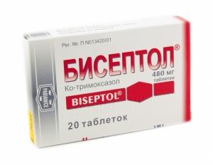 БИСЕПТОЛ 480 (80мг+16мг)/мл 5мл N10 концентрат д/приготовления р-ра д/инфузий Польфа Варшавский фармацевтический завод