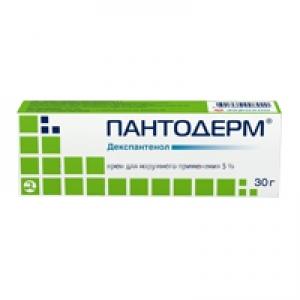 ПАНТОДЕРМ 5% 30г крем д/наружного применения АКРИХИН АО