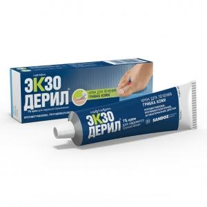 ЭКЗОДЕРИЛ 1% 15г крем д/наружного применения Merck KGaA and Co.