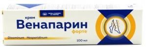 ВЕНАПАРИН-ФОРТЕ крем д/ног 100мл ВИС ООО