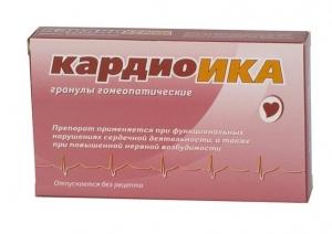 КАРДИОИКА 10г гранулы гомеопатические Материа Медика Холдинг НПФ ООО
