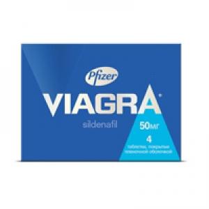 ВИАГРА 50мг N4 таб. Pfizer
