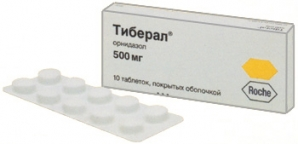 ТИБЕРАЛ 500мг N10 таб. покрытые пленочной оболочкой ДЭВА ХОЛДИНГ А.Ш.