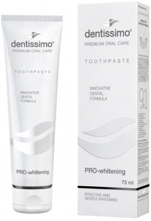 ЗУБНАЯ паста Dentissimo PRO-WHITENING Отбеливающая, 75мл (Италия)