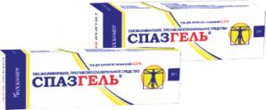 СПАЗГЕЛЬ 2,5% 50г гель д/наружного применения Татхимфармпрепараты
