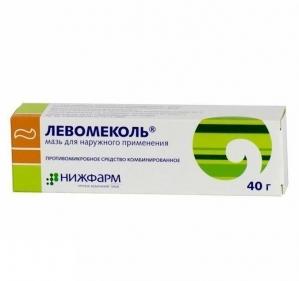 ЛЕВОМЕКОЛЬ 40г мазь д/наружного применения Нижфарм