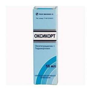 ОКСИКОРТ 55мл аэрозоль Tarchominskie Pharmaceutical Works Polfa