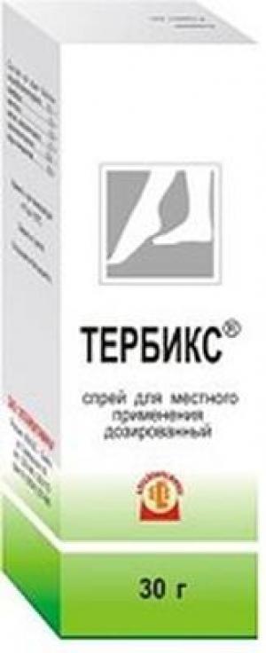 ТЕРБИКС 1% 30г спрей д/наружного применения Алтайвитамины