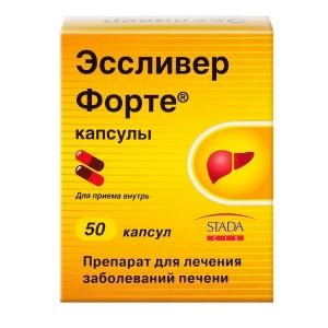 ЭССЛИВЕР ФОРТЕ N50 капс. Nabros Pharma
