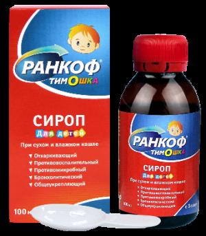 РАНКОФ ТИМОШКА сироп 100мл Алина Фарма