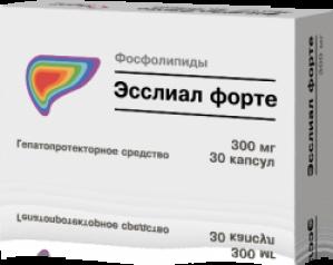 ЭССЛИАЛ ФОРТЕ 0,3г N90 капс. Озон