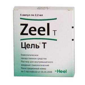 ЦЕЛЬ Т 2,2мл N5 р-р д/инъекций Biologische Heilmittel Heel GmbH
