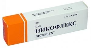 НИКОФЛЕКС 50г мазь д/наружного применения Реанал А/О