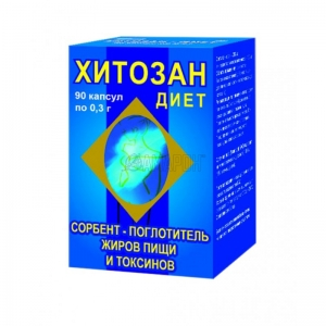 ХИТОЗАН-ДИЕТ капс. 300мг N90 Алкой