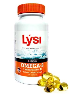 ЛИСИ ОМЕГА-3 капс. с витамином Д N60 ЛИСИ Х.Ф.