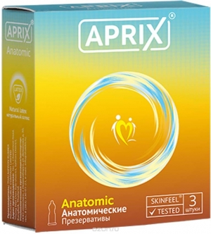 АПРИКС презервативы Анатомик N3 THAI NIPPON RUBBER INDUSTRY PUBLIC COMPA