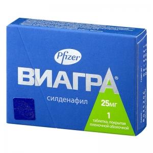 ВИАГРА 25мг N1 таб. Pfizer