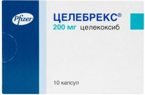 ЦЕЛЕБРЕКС 200мг N10 капс. Pfizer Pharmaceuticals LLC