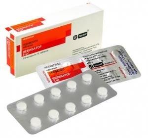 НЕБИВАТОР 5мг N28 таб. Torrent Pharmaceuticals Ltd