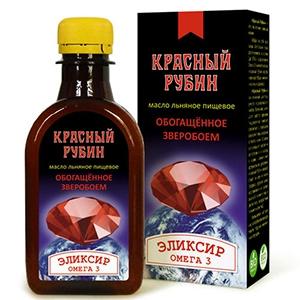 МАСЛО Льняное Красный рубин 200мл