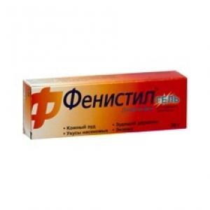 ФЕНИСТИЛ 0,1% 30г гель д/наружного применения Новартис Консьюмер Хелс