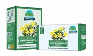 ФИТОЧАЙ Курильский чай Тайга-продукт ф/п №20 1,5