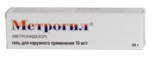 МЕТРОГИЛ 1% 30г гель д/наружного применения Юник фармасьютикал лабораториз д/лица/тела