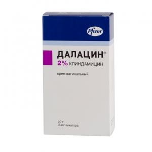 ДАЛАЦИН 2% 20г крем вагинальный Pharmacia and Upjohn Company