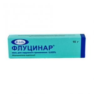 ФЛУЦИНАР 0,025% 15г мазь д/наружного применения Ельфа А.О. Фармзавод