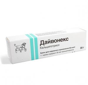 ДАЙВОНЕКС 0,005% 30г мазь Leo Laboratories Limited