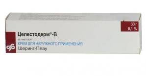 ЦЕЛЕСТОДЕРМ-В 0,1% 30г крем д/наружного применения Шеринг-Плау Лабо Н.В.