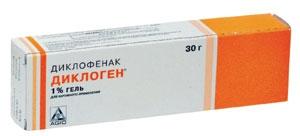 ДИКЛОГЕН 5% 30г гель д/наружного применения Agio Pharmaceuticals