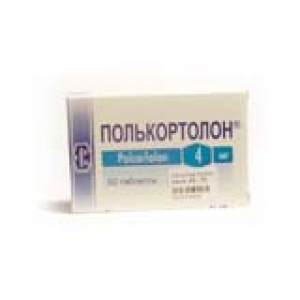 ПОЛЬКОРТОЛОН 4мг N50 таб. Pabianice Pharmaceutical Works Polfa