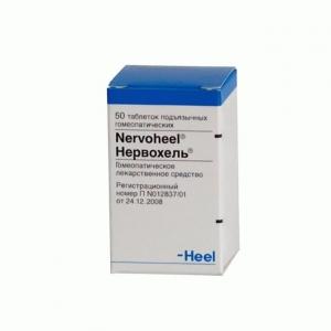 НЕРВОХЕЛЬ N50 таб. д/рассасывания Biologische Heilmittel Heel GmbH